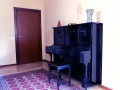 If you like training.. there's also a piano for our guests!
