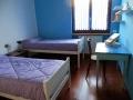 La camera con due letti